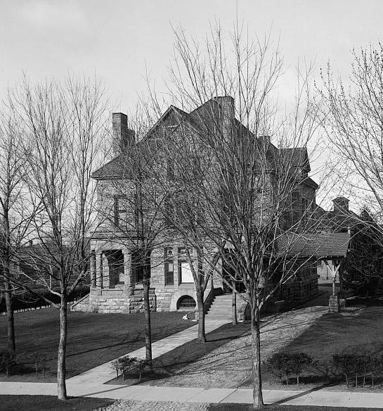 Ammi Wright house in Alma