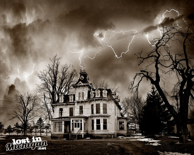 bruce mansion michigan haunted