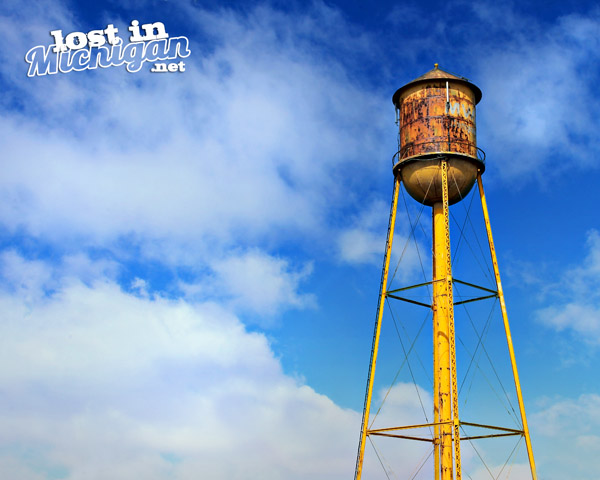 owosso water tower Michigan