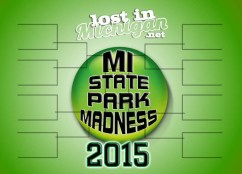 Michigan state park madness 2015