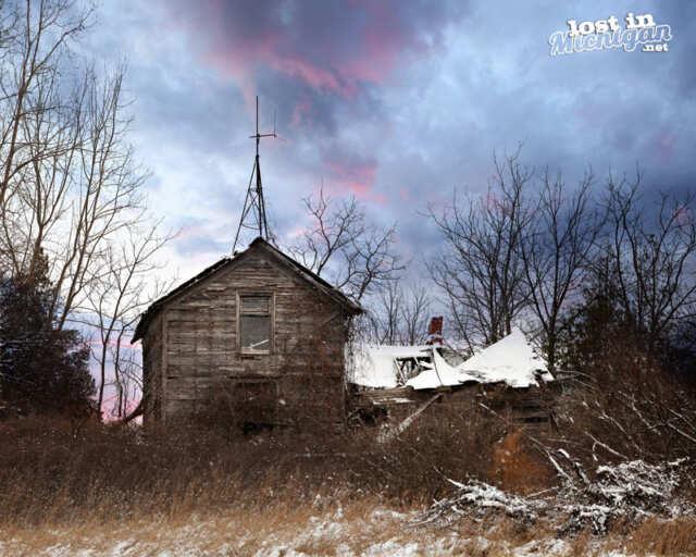Abandoned House Michigan