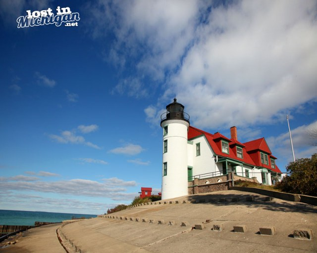 point betsie light house Michigan