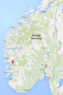 location Juklavatnet