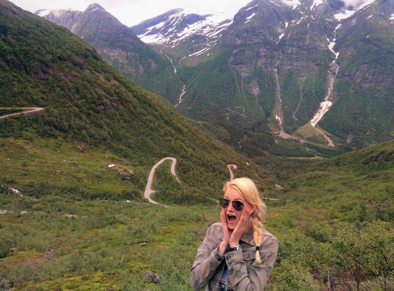 Nationaal Toeristische Routes - De duizelingwekkende hoogte van Gaularfjellet