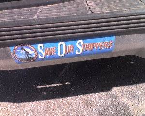 A Very Odd Bumper Sticker