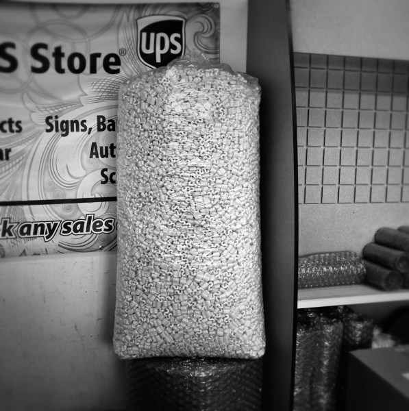Day 123: Packing Peanuts