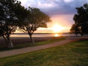 Day 19: Dawn at Lake Overholser