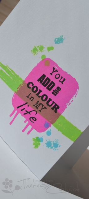 You Add Colour - Detail