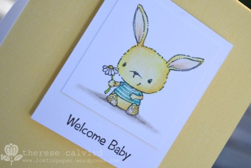 Welcome Baby - Detail