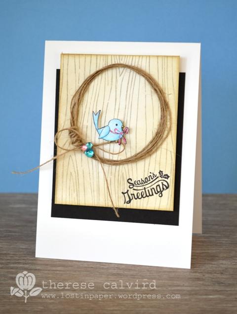 Season's Greetings - Bluebird