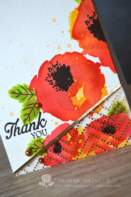 Watercolour Flowers - Detail