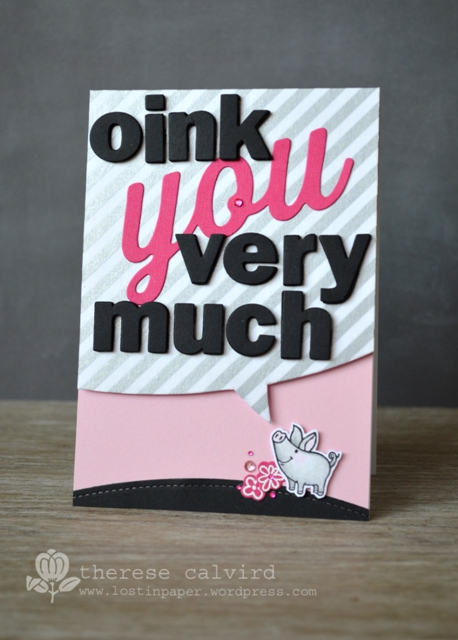 oink you
