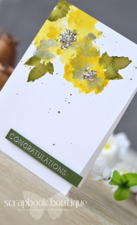 Lostinpaper - Altenew Watercolor Wonders / Magnolias for Her