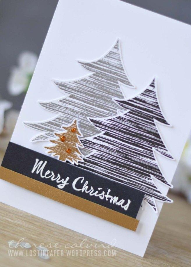Lostinpaper - Darkroom Door - Brushed Christmas