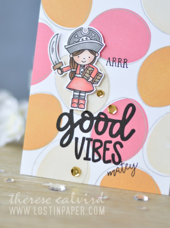 Lostinpaper - Calathea - Yo Ho Ho - Good Vibes - Awesome (card video) 4