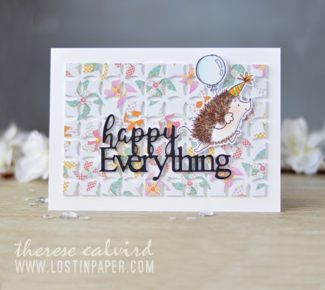 Lostinpaper - Penny Black - Cheerful Critters - Awesome (Gimme 5 card video) 2