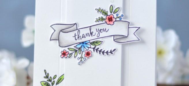 Lostinpaper - Reverse Confetti - Banner in Bloom (card video) 1 copy