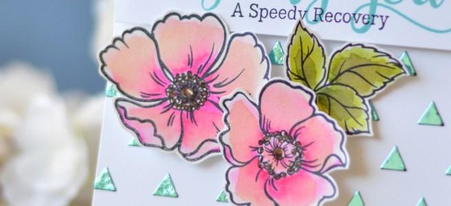 Lostinpaper - Mudra - DecoFoil - Heidi Swapp (card video) 1