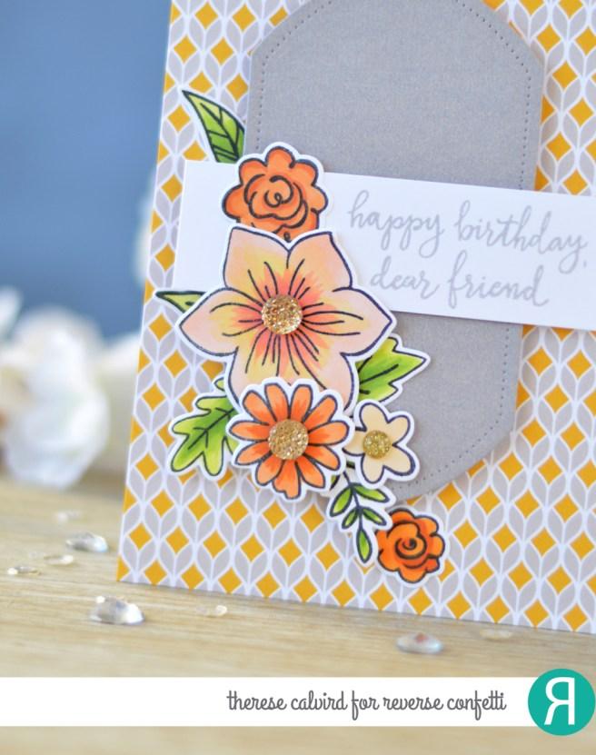 Lostinpaper - Reverse Confetti - Build a Bunch - Banner in Bloom - Under the Umbrella - Pierced Round Top Layers (card video) 1 copy