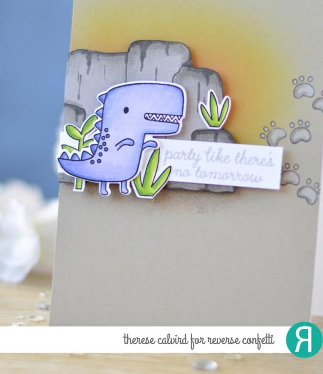 Lostinpaper - Reverse Confetti - No Tomorrow (card video) 1 copy