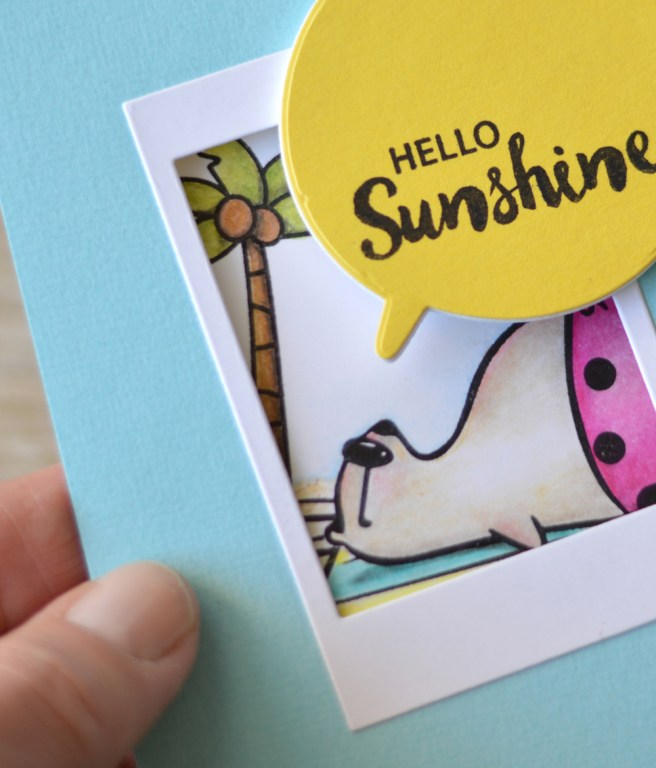 Waffle Flower Crafts - Stay Cool - Balloon Messages - Instalove - Therese (card video) 3