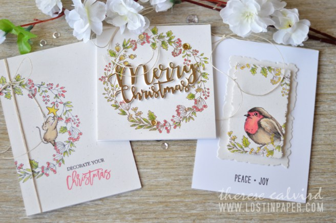 Lostinpaper - Penny Black Gimme 5 - One Stamp Five Cards (card video) 1