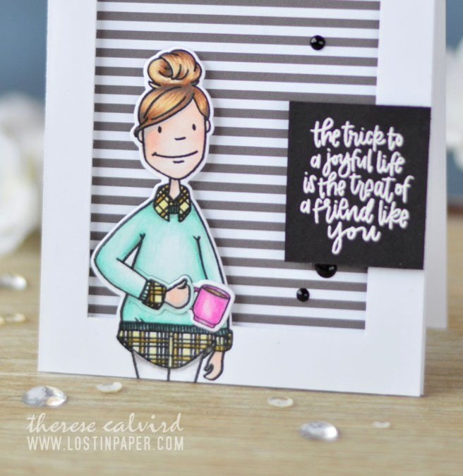 Lostinpaper - Essentials By Ellen - Cozy Lady (card video) 1