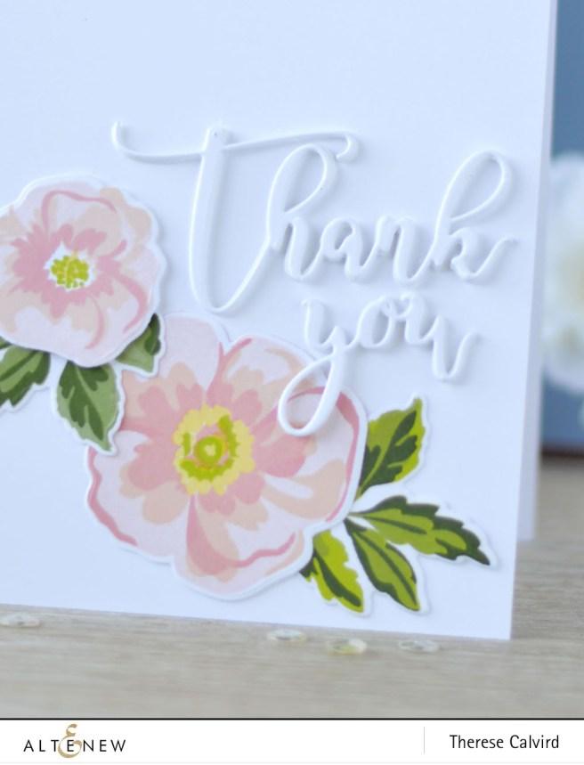 Altenew - Flower Arrangement - dies - Lostinpaper (card) 1 copy