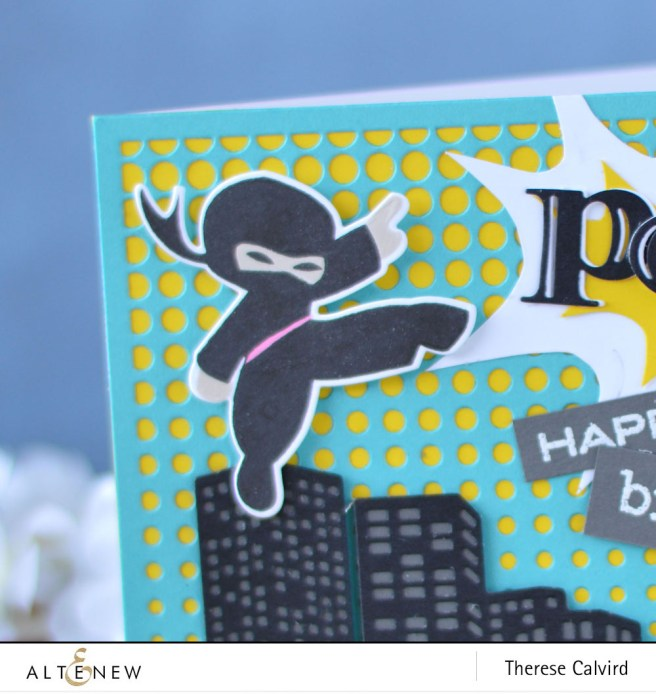Altenew - Ninja Invasion - Birthday Builder - Lostinpaper (card) 1 copy