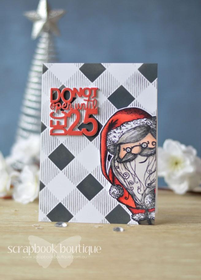 Lostinpaper - Carabelle Studio - Santa Claus -Penny Black - Do Not Open - Echo Park (card video) - Copy
