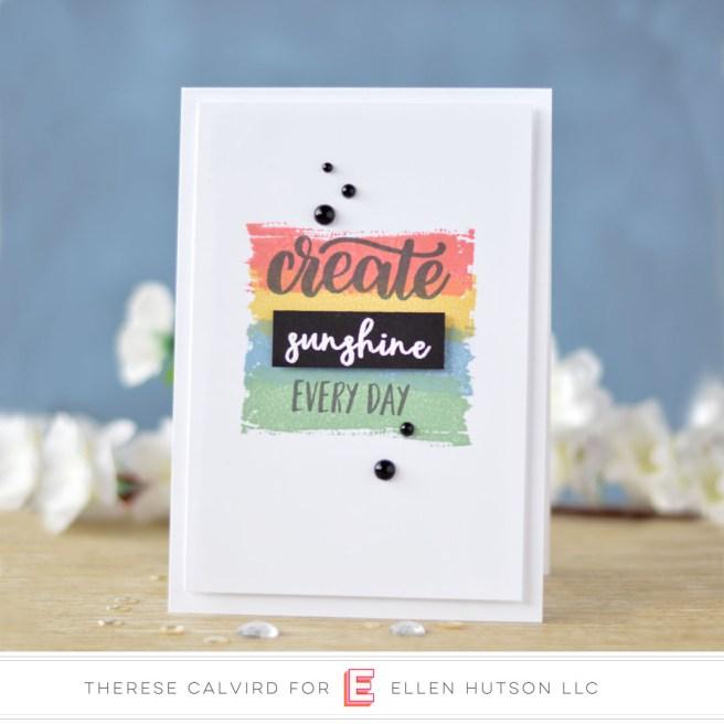 Lostinpaper - Catherine Pooler - Eat Sleep Create - Zen Collection (card) 1 copy