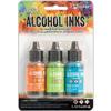 Spring Break Alcohol Inks