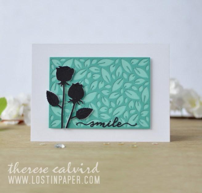 Lostinpaper - Penny Black - Leaf Pattern - Love & Roses - Gimme 5 (card video) 1