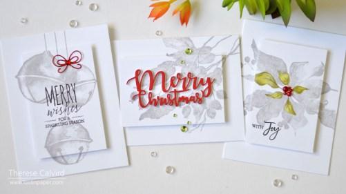 Lostinpaper - Penny Black Gimme 5 - CAS Christmas Highlight Cards (card video) (1) - Copy