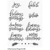Hand Lettered Holiday Greetings