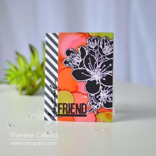 Lostinpaper - Ellen Hutson - Mondo Sakura - Block Words (card) 1