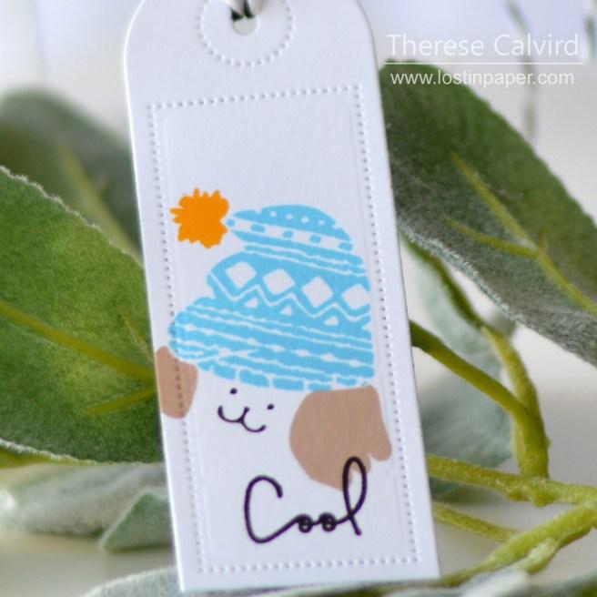 Lostinpaper - Waffle Flower - Cool Dog - Tags (card) 1