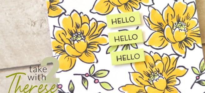 Altenew - Sunlit Flower Card Making Kit - Therese Calvird thumbnail copy