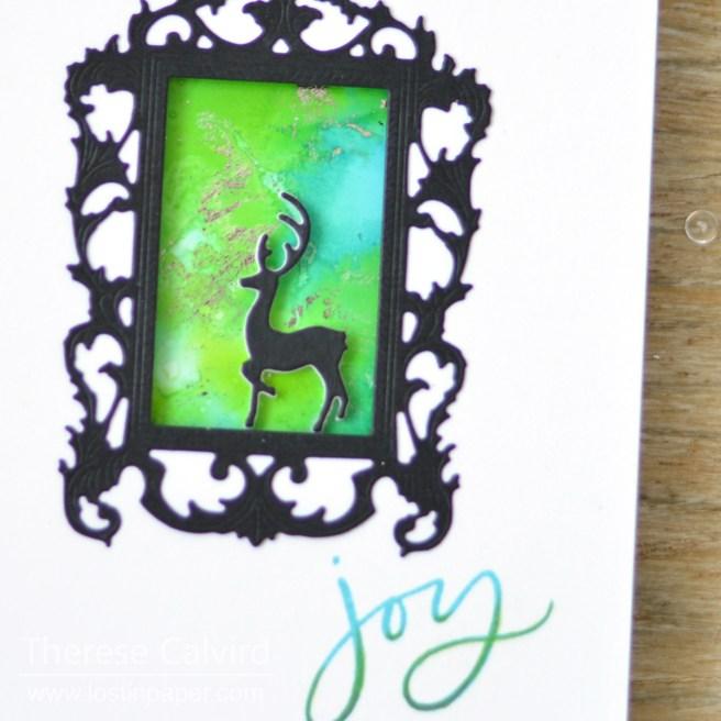 Lostinpaper - Altenew - Penny Black - Santa's Seigh (card video) 1