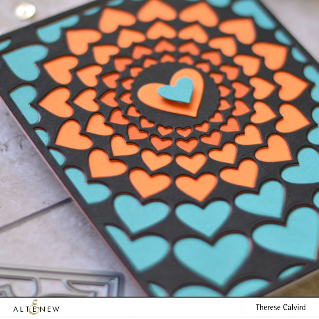 altenew - radical hearts cover die - therese calvird (card) 1 copy