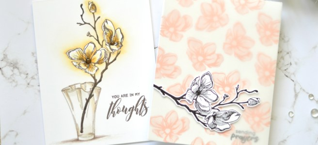 Altenew - Dotted Blooms Stamp Focus - Therese Calvird (Take 2 Card Video)