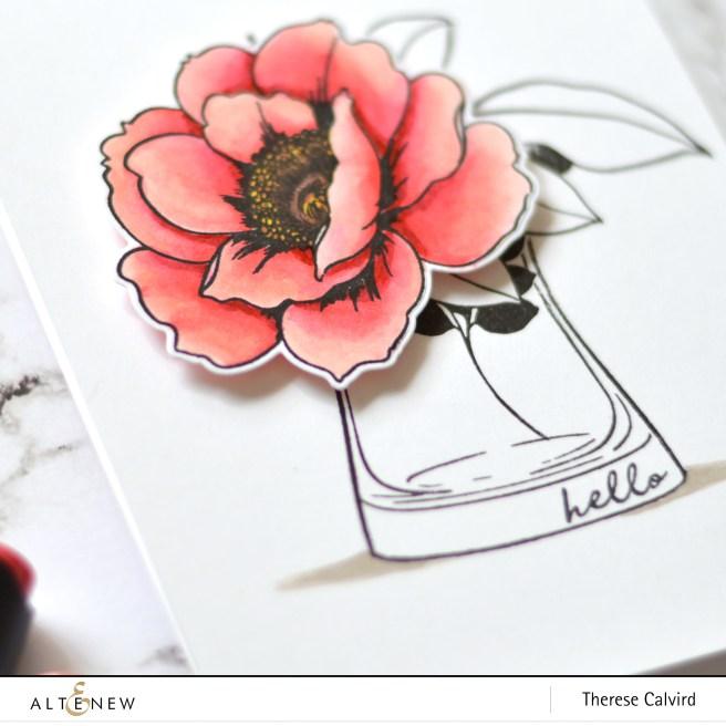 Altenew - Wallpaper Art - Versatile Vases - Therese Calvird (card) 1 copy