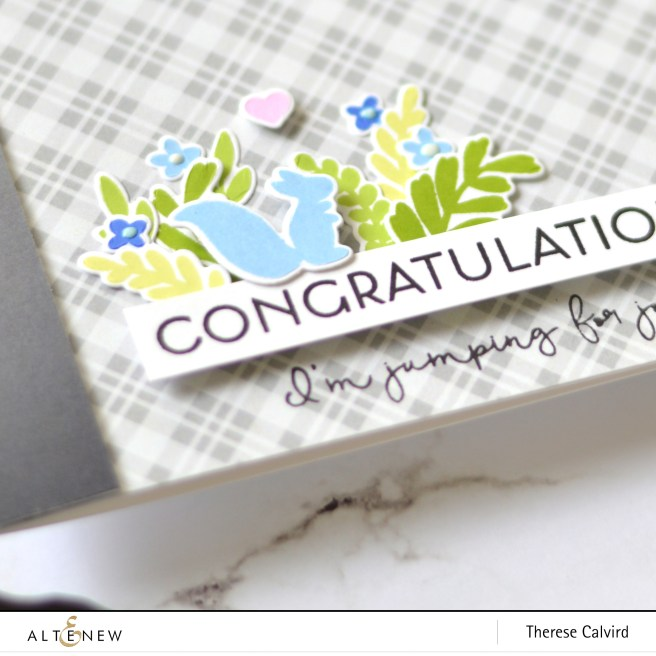 Altenew - Spring Fling - Rock Collection Paper Pack - Therese Calvird (card) 1 copy