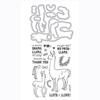 Llama Stamp & Cut