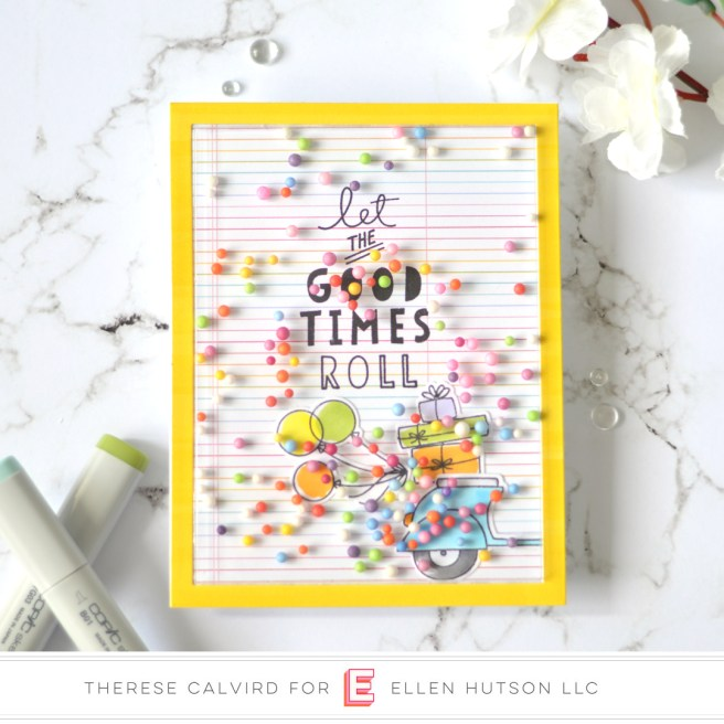 Lostinpaper - Ellen Hutson - Good Times (card) 1 copy