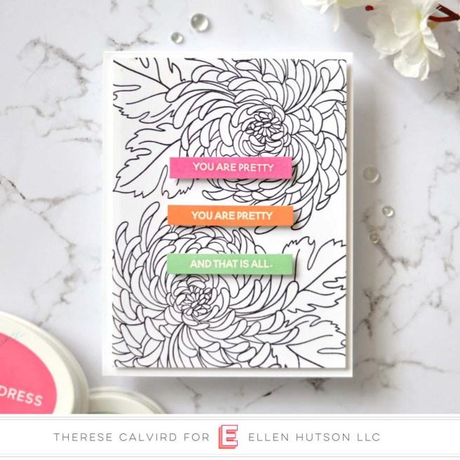 Lostinpaper - Ellen Hutson - Mondo Chrysanthemum - Totally Random Sayings Vol 3 (card video) 1 copy