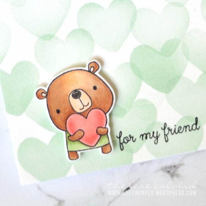 Lostinpaper - Reverse Confetti - Huggable (card) 1