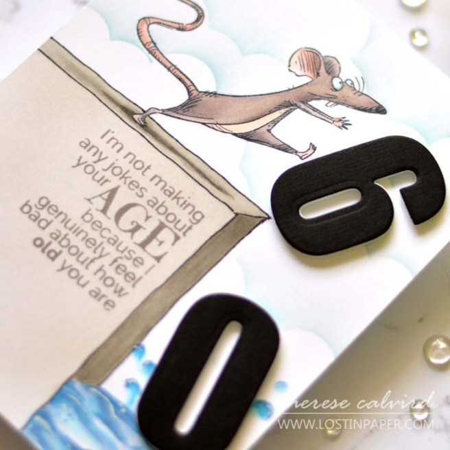 Lostinpaper - Cards 4 Men - Katzelkraft - Altenew - Stamplorations (card video) 1