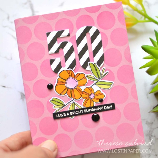 Lostinpaper - Inside Tunnel Card - Picket Fence - Altenew (card video) 1