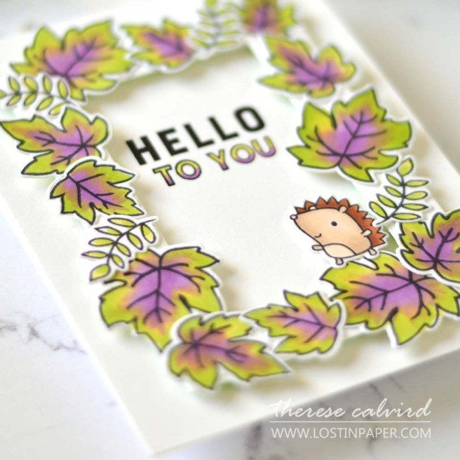 Lostinpaper - Reverse Confetti - Pick of the Patch - In All Things - Seasonal Say it All (card) 1